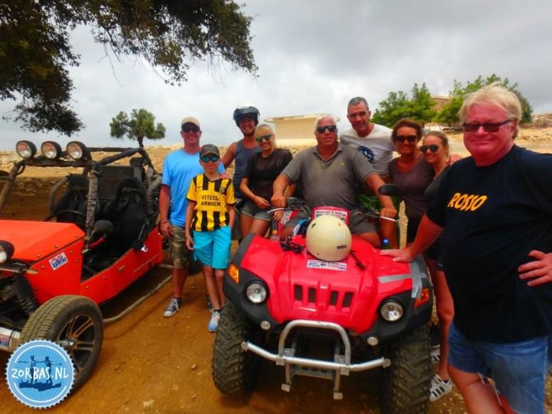 Buggy safari active holiday on Crete