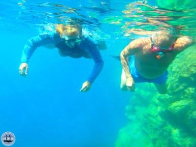 Beautiful underwater world Mediteranean Sea