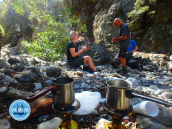 Hiking in the nature on Crete