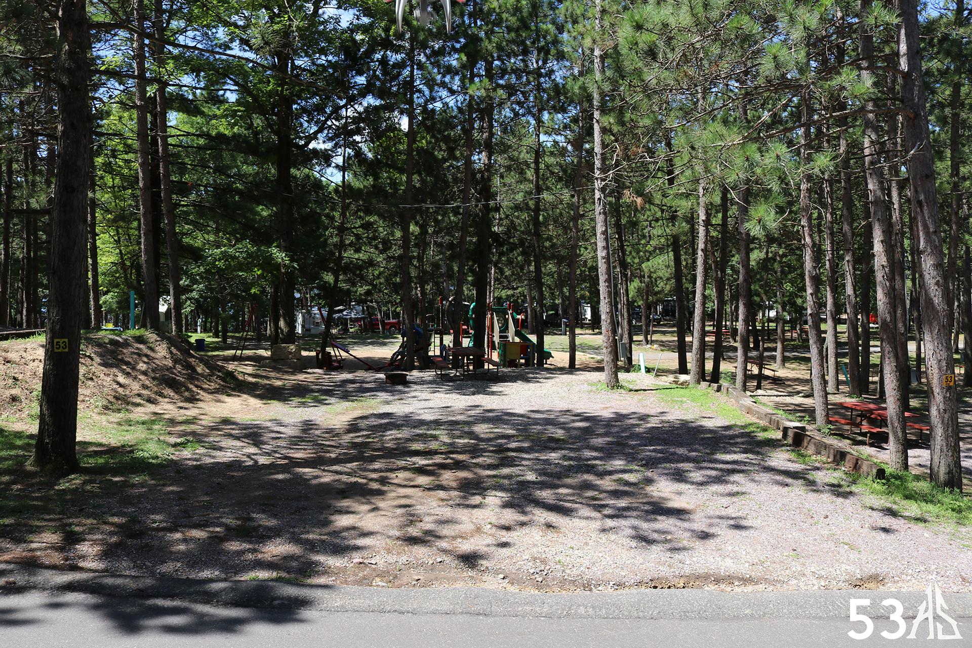 Campsite 53 - Holiday Shores, Wisconsin Dells, Camping ...