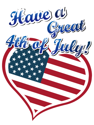 Happy 4th Of July Card Birthday Amp Greeting Cards By Davia