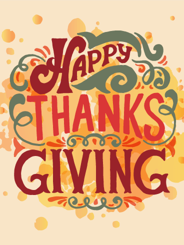 Fun Happy Thanksgiving Card Birthday Amp Greeting Cards By