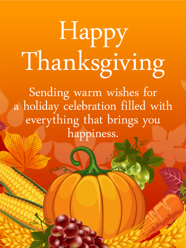Heartfelt Thanksgiving Card Birthday Amp Greeting Cards By