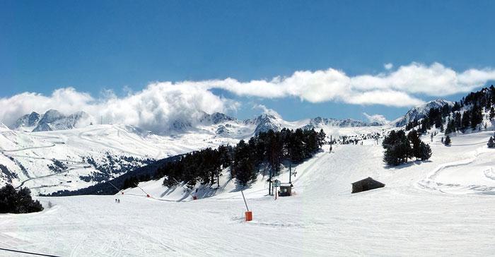 Skiing, Andorra.