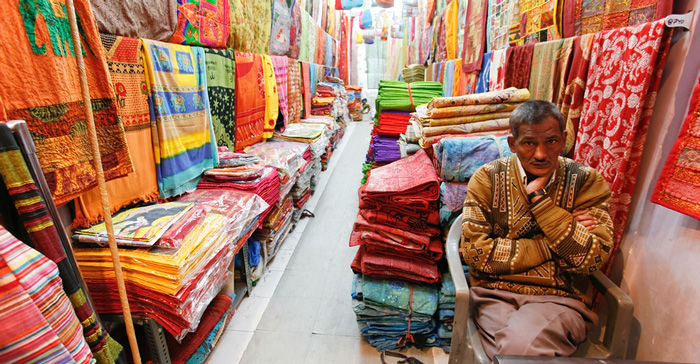 Shopkeeper in India