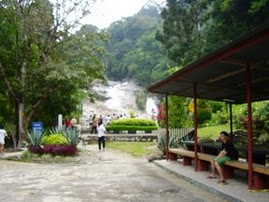 Chamang Waterfall rest house