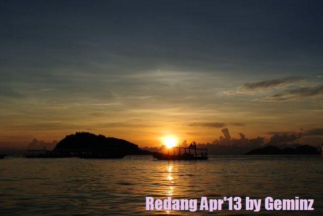 Sunrise in redang