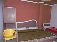 Double Bed Room at Aranya Bhawan, Jaldapara