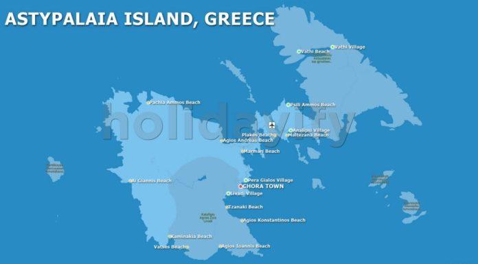 Astipalya Haritası