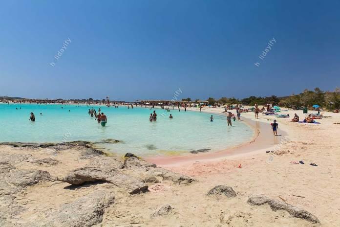 Elafonisi plajı, Girit adası