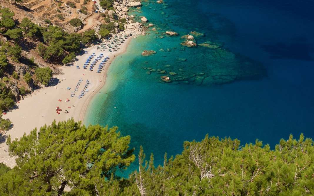 Apella - one of the most beautiful beach of Greece, Karpathos