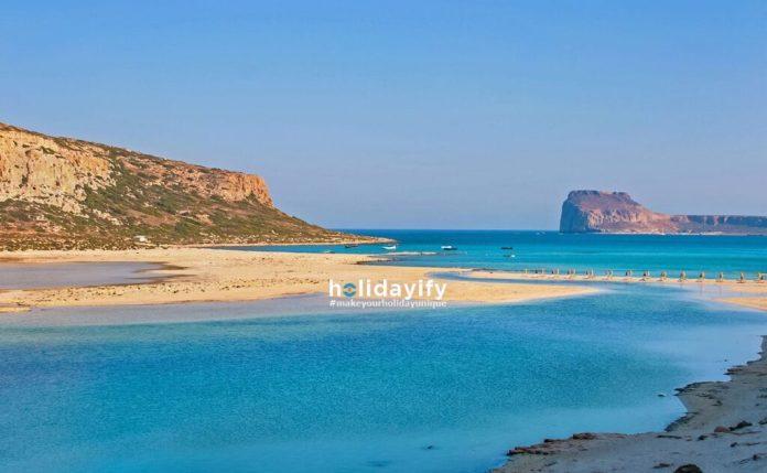 Balos Lagoon on Crete