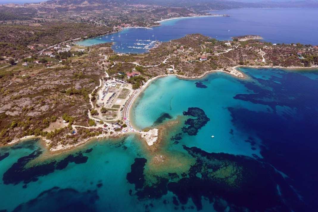 Halkidiki Lagonisi Beach
