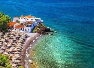 Vlichos Village, Hydra island
