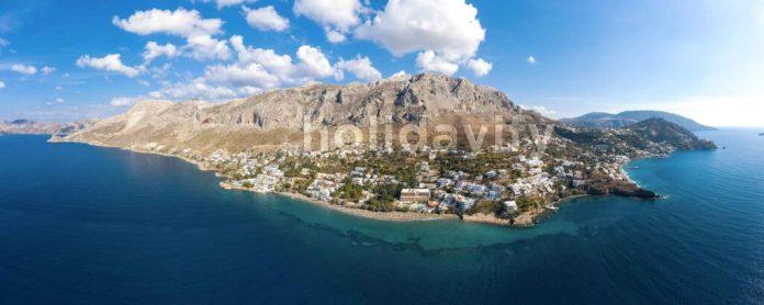 Myrties village, Kalymnos, Greece
