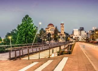 Pinios Bridge, Larissa, Greece