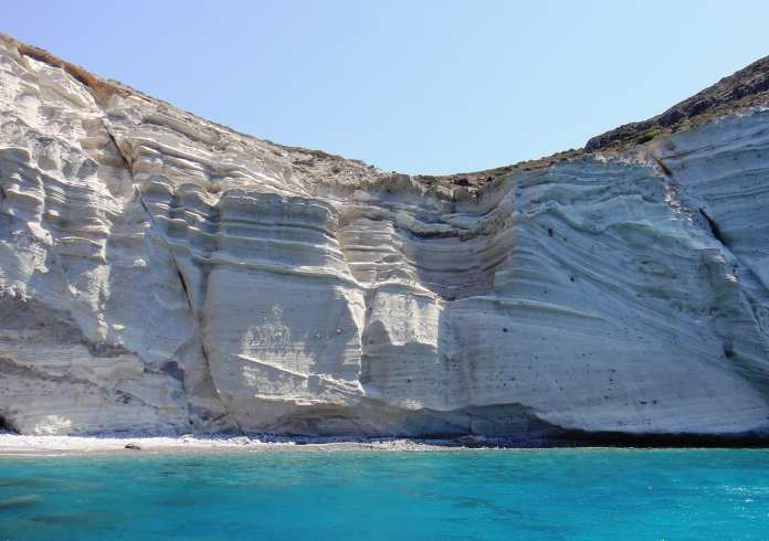 Santorini White Beach