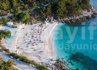Taşoz adası, Marble Saliara Plajı