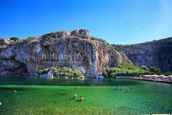 Vouliagmenis Lake, Athens, Greece