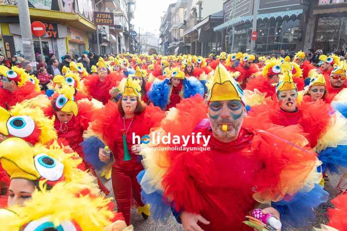Xanthi Carnival - Chicken Customes