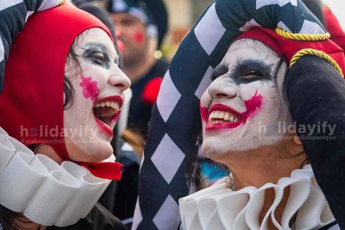 Xanthi Carnival - People Laughing