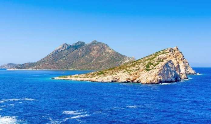 The island of Nikouria, Amorgos
