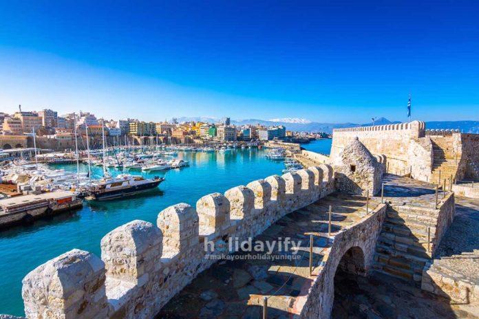 Old venetian fort Koule, Heraklion, Crete