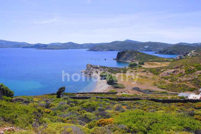 Beaches of Patmos island, Greece