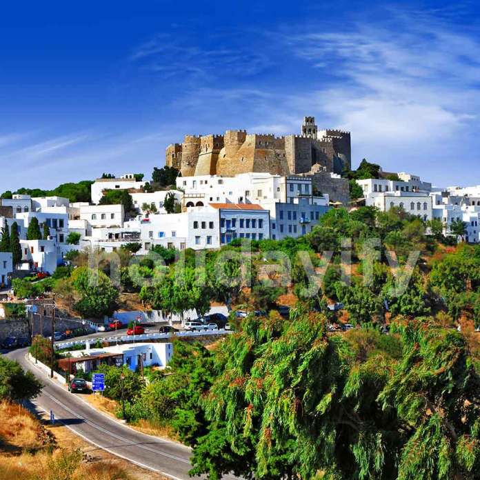 The Monastery of St John, Patmos, Greece