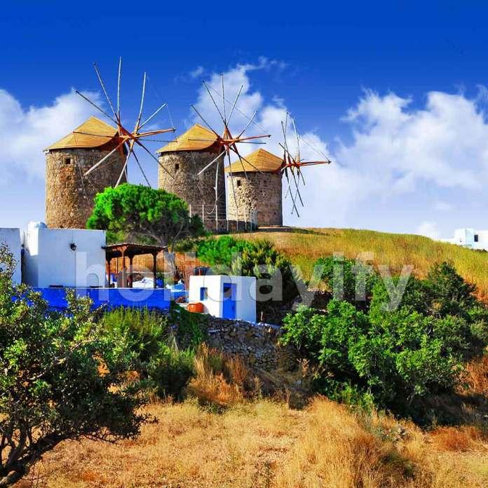 The Windmills of Patmos, Greece