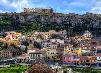 Athens and Thessaloniki
