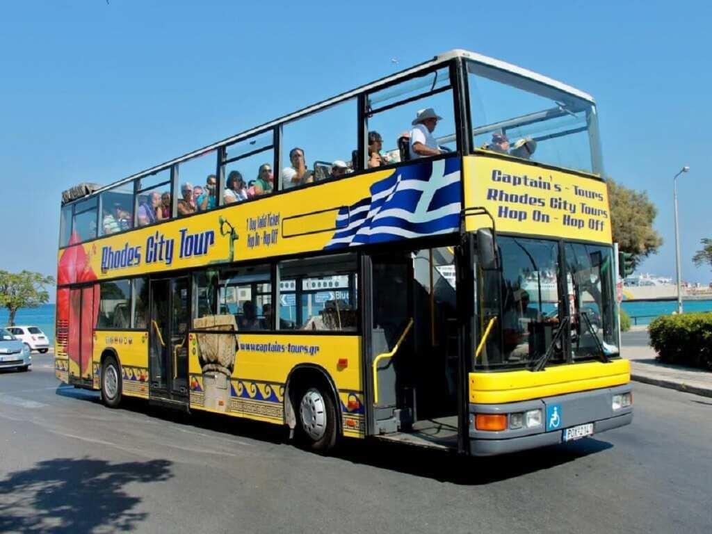 Rodos Adasında Otobüsle Ulaşım