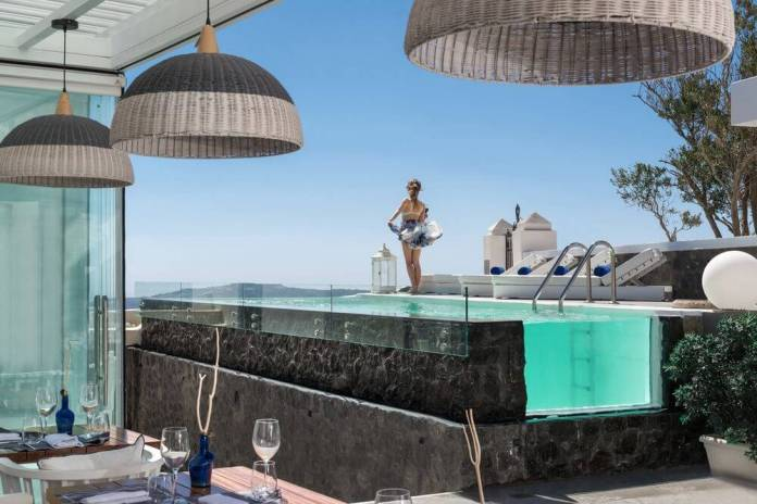 Mythical Blue Luxury Suites, Santorini, Greece