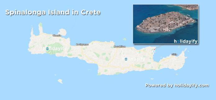 Where is the leper colony in Greece?