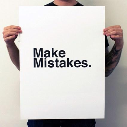 Poster Pairings: Make Mistakes