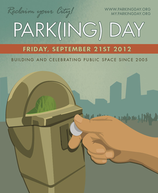 Parking Day 2012 poster