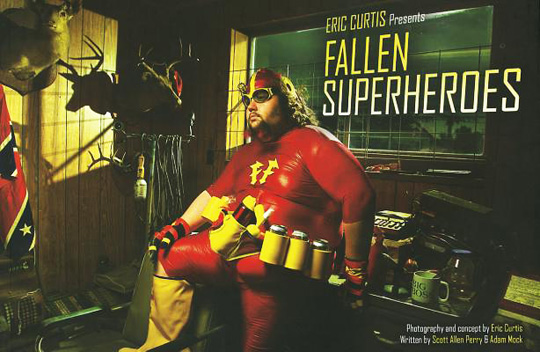 Fallen Superheroes cover