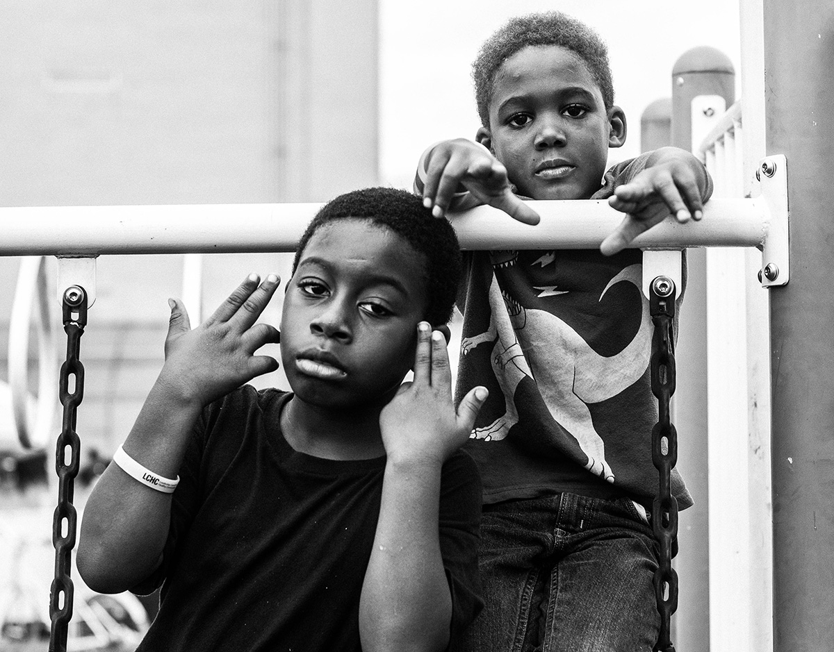 Photo of kids on playground by Dee Dwyer
