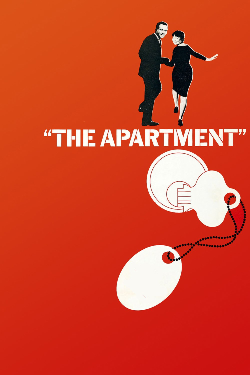 "Poster for the movie ""The Apartment"""