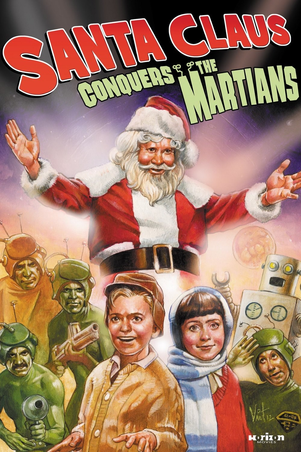 """Poster for the movie """"Santa Claus Conquers the Martians"""""""
