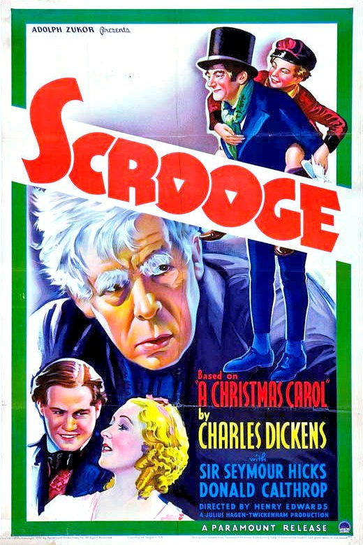 "Poster for the movie ""Scrooge"""