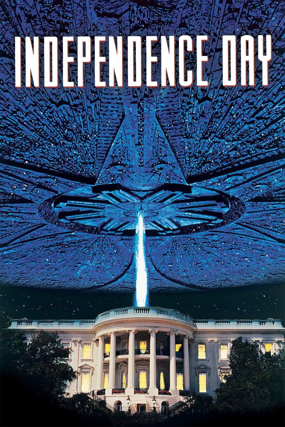 "Poster for the movie ""Independence Day"""