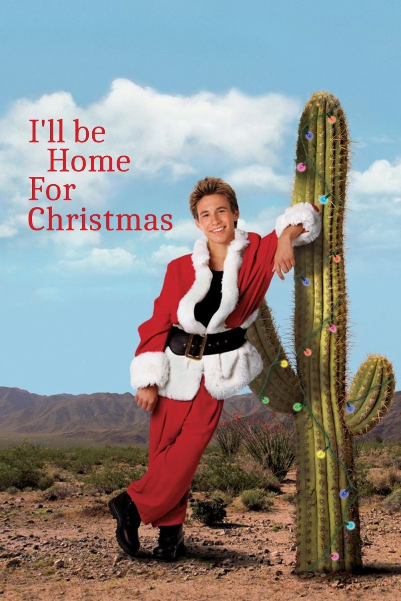 "Poster for the movie ""I'll Be Home for Christmas"""