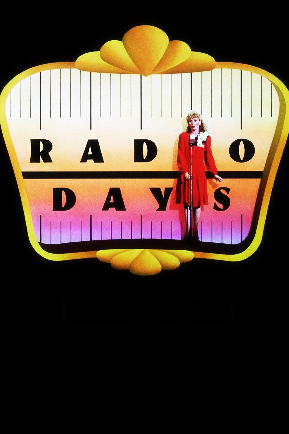 """Poster for the movie """"Radio Days"""""""