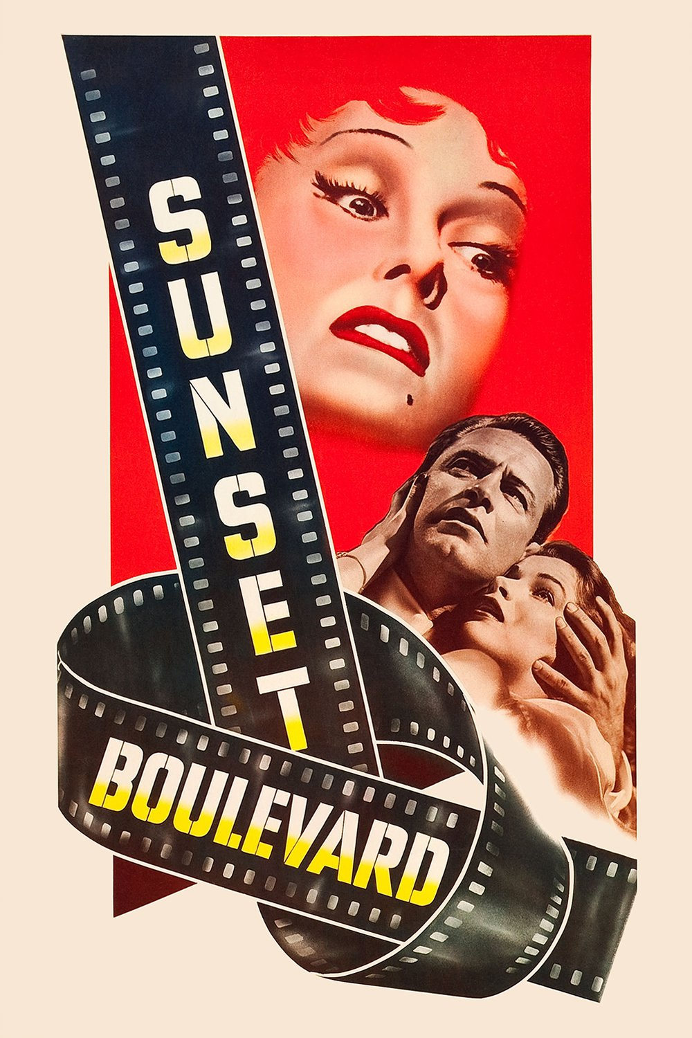 "Poster for the movie ""Sunset Boulevard"""