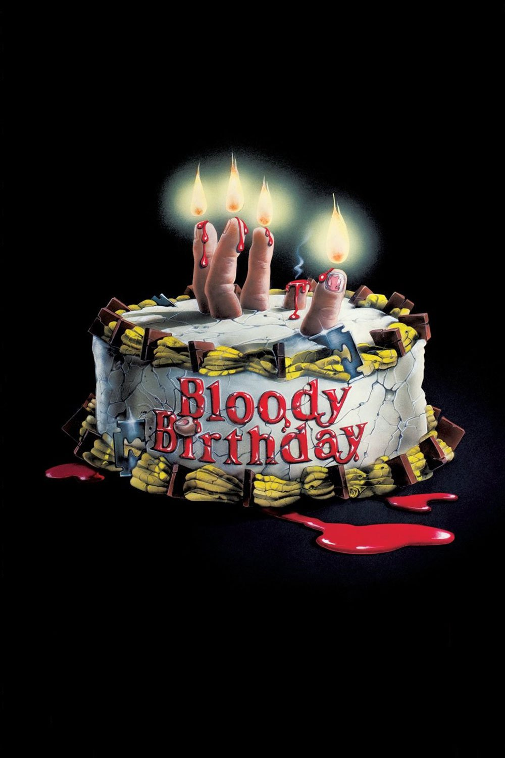 """Poster for the movie """"Bloody Birthday"""""""
