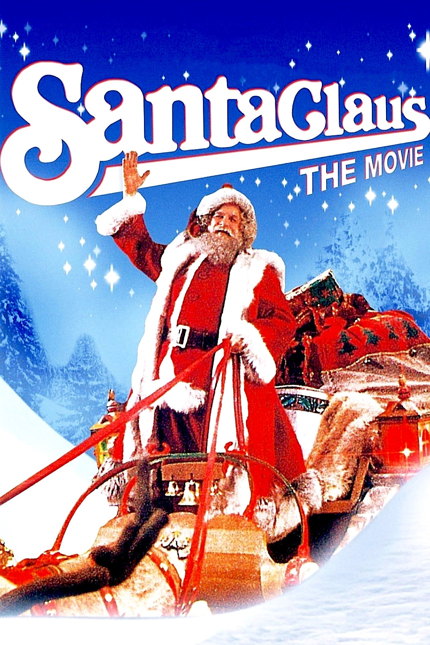 "Poster for the movie ""Santa Claus: The Movie"""