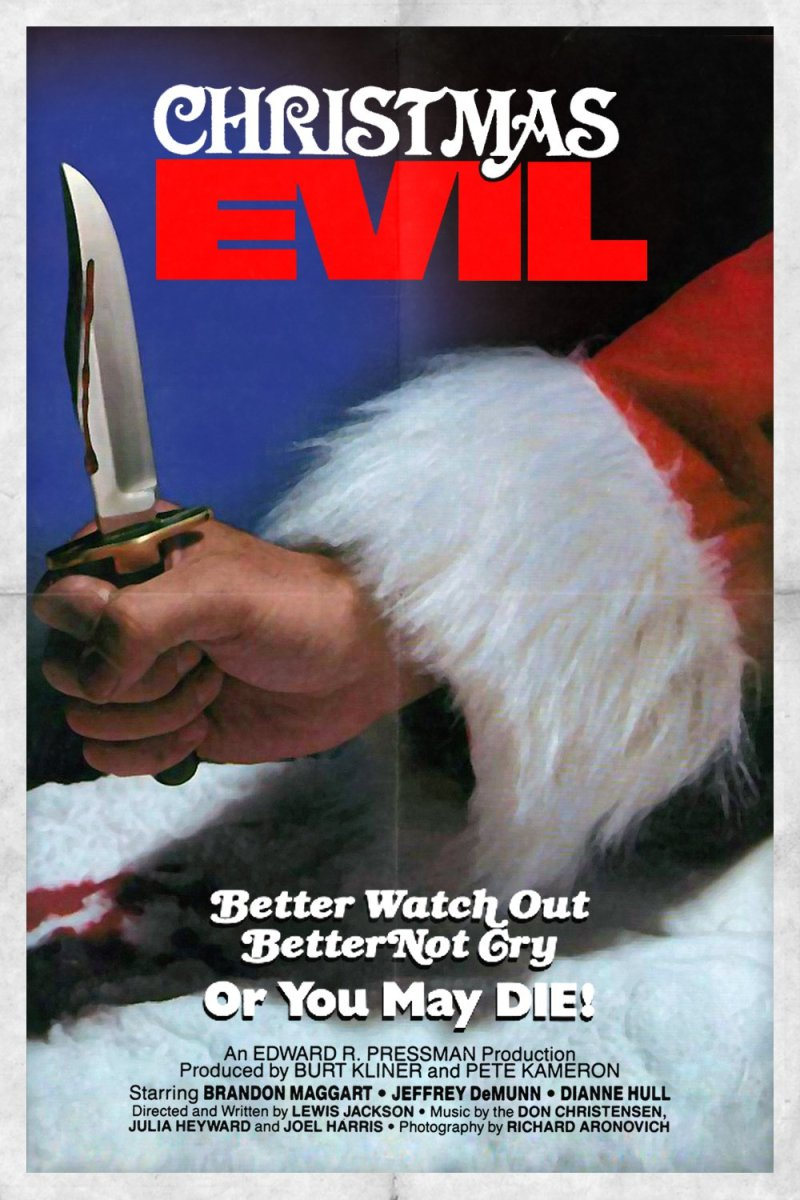 "Poster for the movie ""Christmas Evil"""