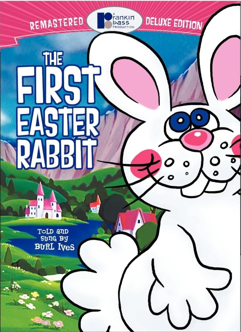 "Poster for the movie ""The First Easter Rabbit"""