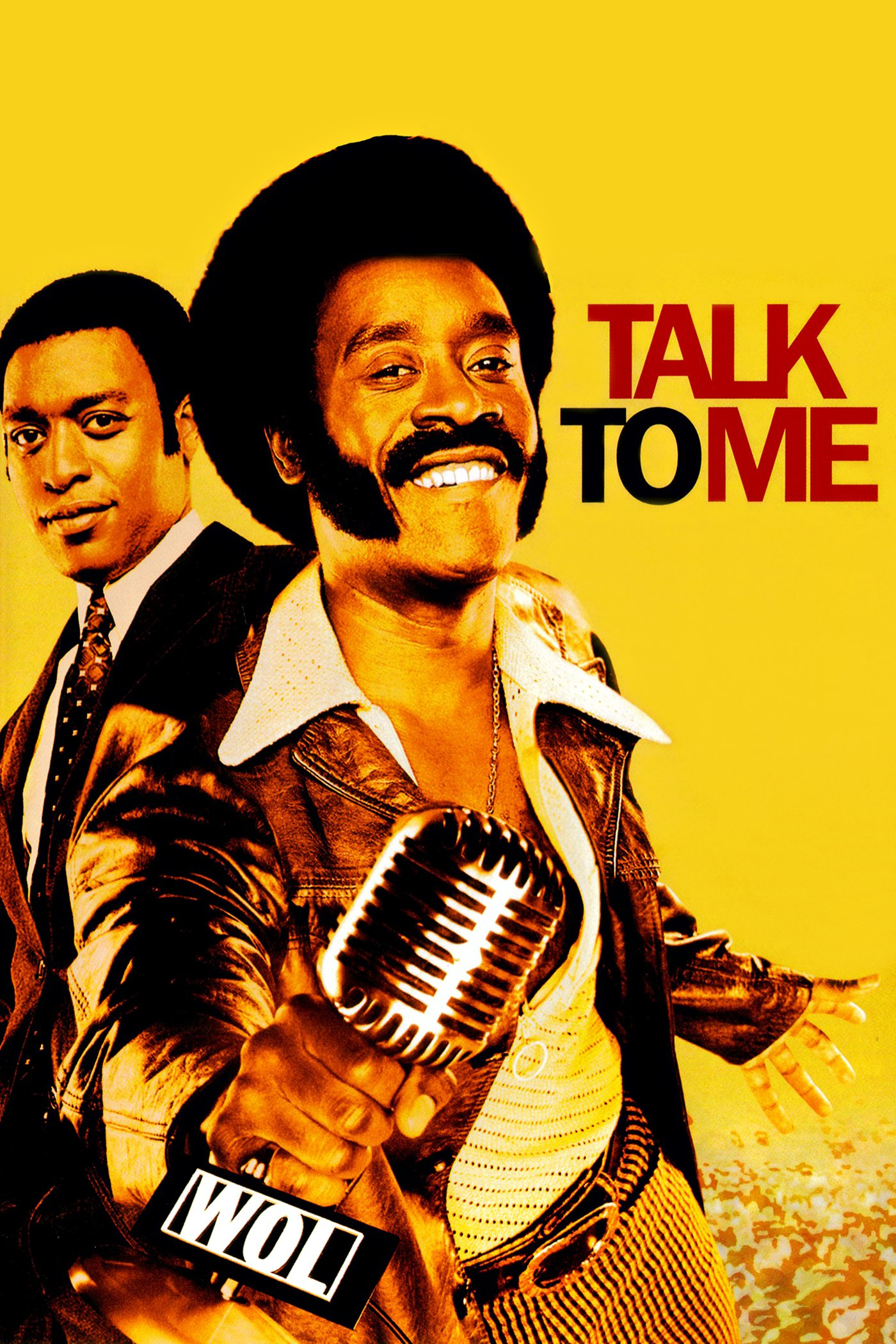 "Poster for the movie ""Talk to Me"""